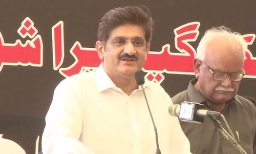 People of Pakistan have lost faith in the government: Sindh CM Murad Shah