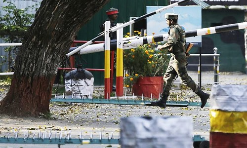 3 Indian soldiers killed as militants storm army camp in held Kashmir