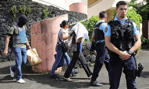 Two police officials wounded by 'Islamist' militant on France's Reunion island