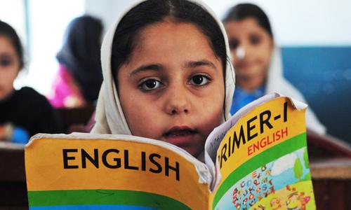 'جو بچہ انگلش نہ بولے، اس کا نام مجھے بتانا'