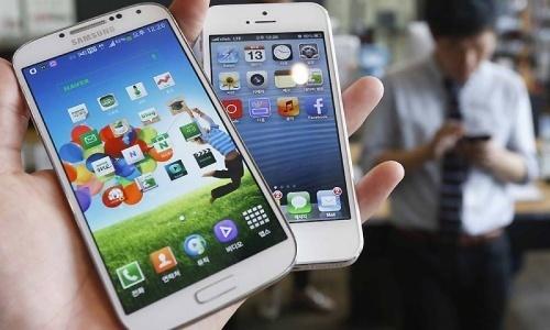 Samsung, Apple keep top market share