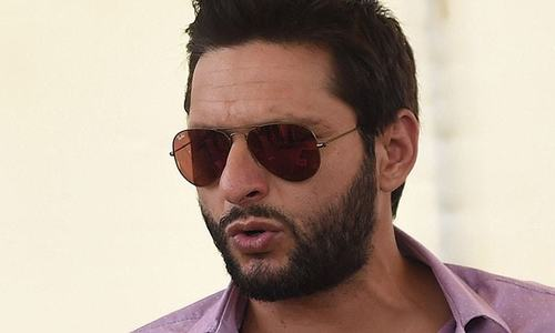 Afridi declines Najam Sethi's farewell offer