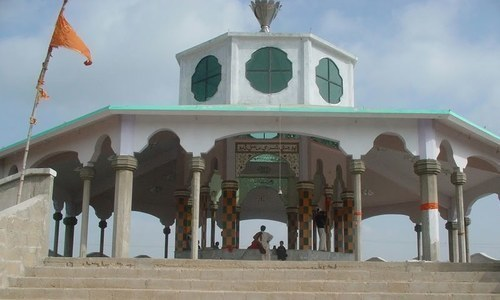 Hindu temple desecrated in Sindh's Gharo