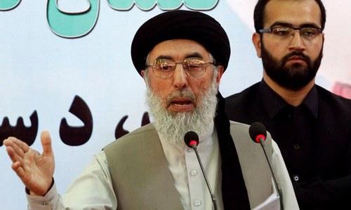 لاحاصل اور ناپاک جنگ کو بند کریں،حکمت یار کی طالبان سے اپیل