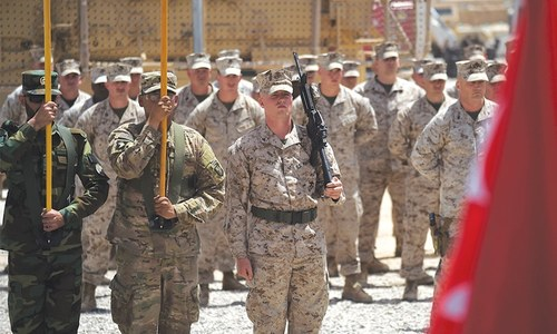 US Marines return to volatile Helmand