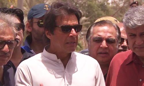 Imran Khan arrives in Karach 'to solve city's problems'