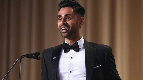 Muslim comedian Hasan Minhaj roasts Donald Trump at White House Correspondents' Dinner
