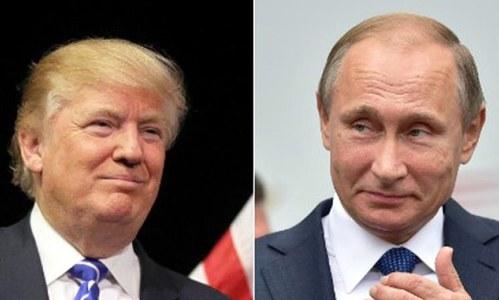 Trump, Putin discuss Syria, North Korea, Middle East in phone call