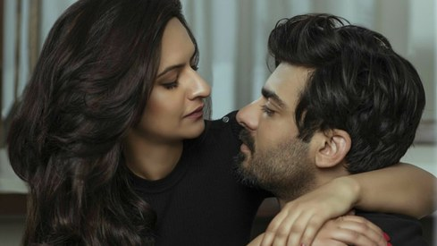 Fawad and Sadaf get cosy in latest shoot for Masala Magazine