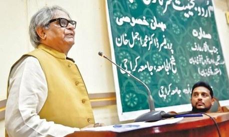 It is a fact that everyone understands Urdu in Pakistan, says scholar Iftikhar Arif