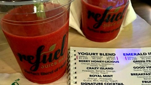 Weekend grub: Refuel smoothies are our favourite in Karachi yet