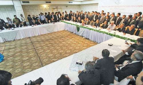 Lawyers' conference rejects demand for PM's resignation