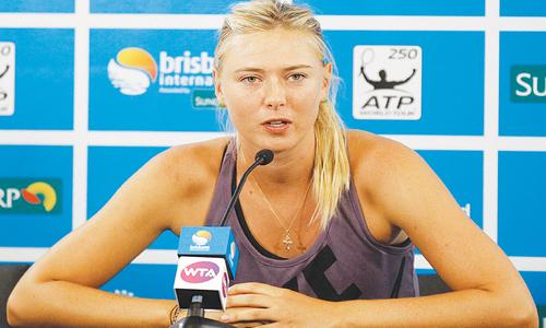 My tennis will do the talking, Sharapova warns Bouchard
