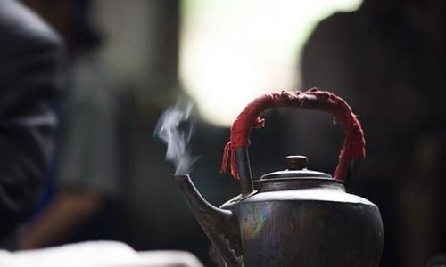 100 سال پرانا چائے خانہ