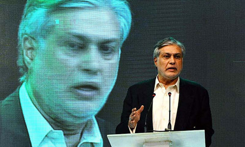 GDP growth rate likely to go above 5pc, says Dar
