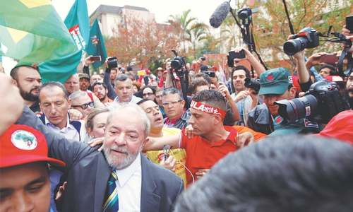 Brazil's Lula: leftist giant on the brink of tumbling