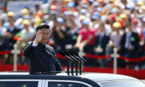 In a changing geopolitical order, China's Silk Road plan gets top billing