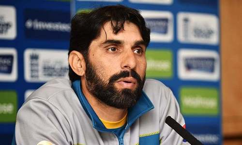 Misbah not offered match-referee's post by PCB: Shaharyar
