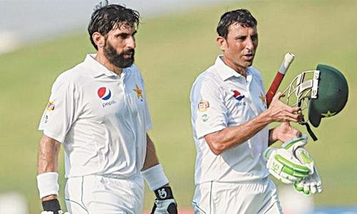 Thank you and goodbye, Misbah & Younis