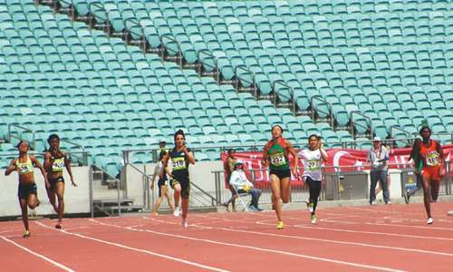 Mishael bests Kiran's national record in Baku