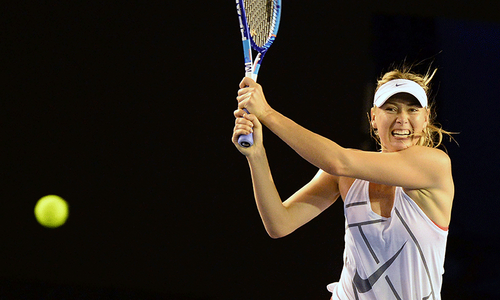 Sharapova vows to 'rise again' after French Open snub