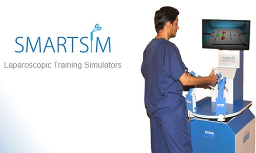 Locally developed simulator promises to train surgery students
