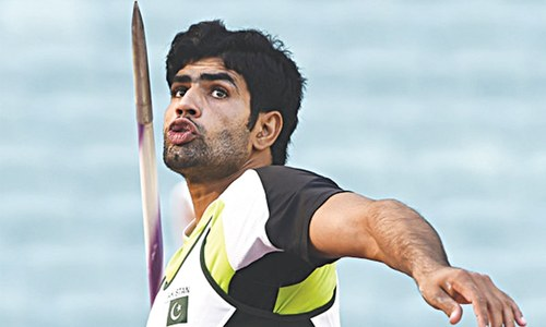 Arshad claims javelin bronze for Pakistan in Baku