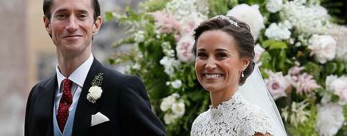 Pippa Middleton's wedding sees celebs and royalty come together