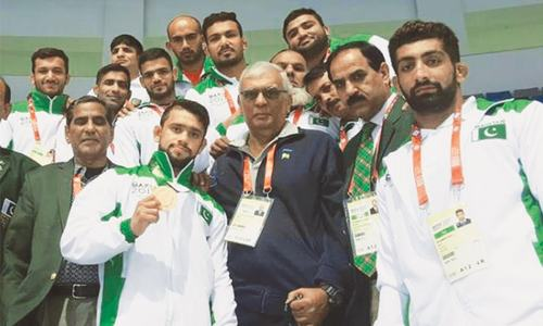 Arbab grabs bronze in zurkhaneh