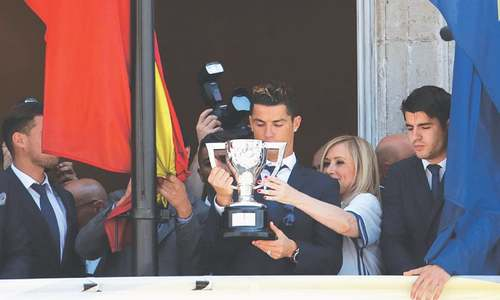 Ronaldo inspires Real Madrid to 33rd La Liga crown