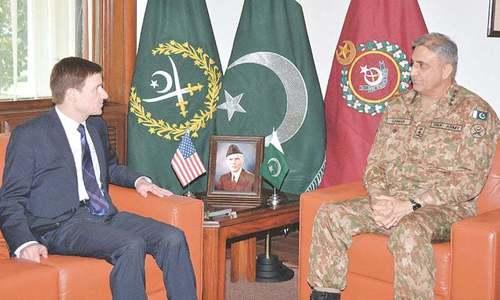 US envoy reminds Pakistan of  pledge in anti-terror fight