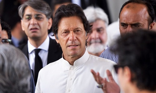 ECP turns down Imran Khan's request for adjournment of disqualification case