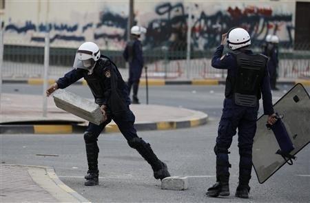 Bahrain police open fire on Shia sit-in