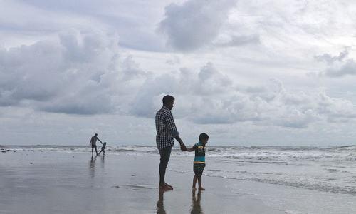 Four teenagers drown off Karachi's Sandspit beach