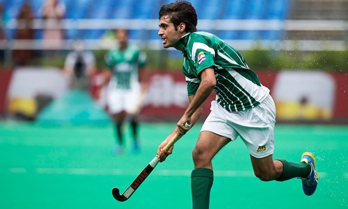 Junaid confident of good show at World Hockey League