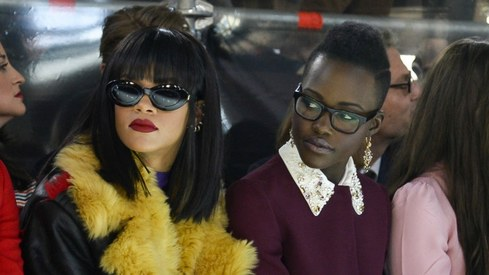 Rihanna and Lupita Nyong'o will star in a film together, thanks to their Twitter fans