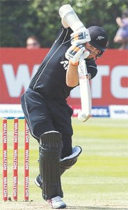 Taylor holds firm but Bangladesh hit back