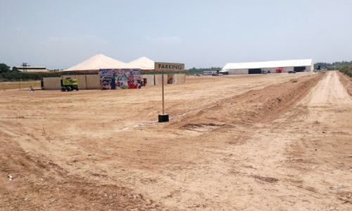 Groundbreaking performed for Peshawar expo centre amid qualms