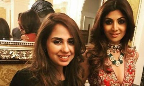 Shilpa Shetty just modelled for Pakistani designer Saira Rizwan