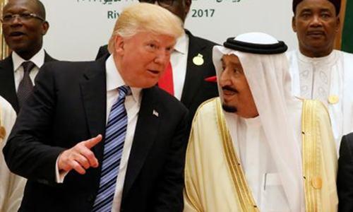 ٹرمپ کا دورہ سعودی عرب: ان دیکھی اور ان سنی باتیں