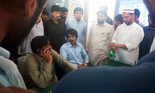 PTI lawmaker, supporters storm grid stations in Peshawar