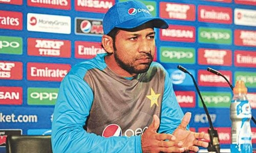 Sarfraz confident about Pakistan's chances in Champions Trophy