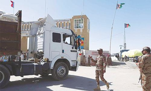 Border crossing with Afghanistan in Chaman reopens