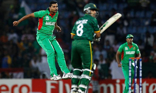 Champions Trophy: Pakistan bag unlikely win in warm-up against Bangladesh