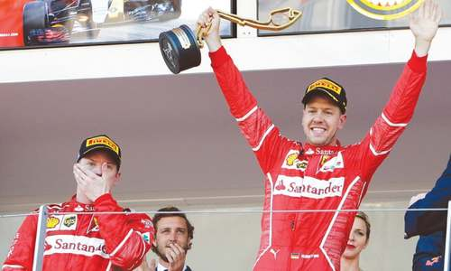 Vettel delivers Ferrari one-two at Monaco