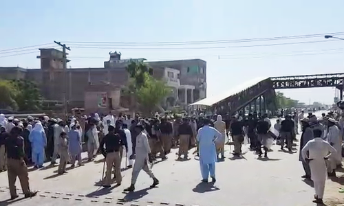 One dead as protests against loadshedding turn violent in KP