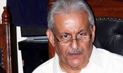 Senator Rabbani loses temper over govt's opacity on Saudi military alliance