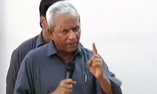 Nehal Hashmi launches into tirade against judiciary.