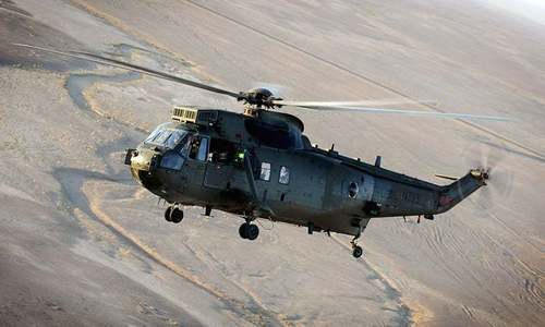 Pakistan Navy receives seven Sea King helicopters from UK
