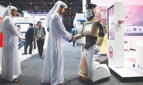 First robotic cop joins Dubai police to fight real life crime